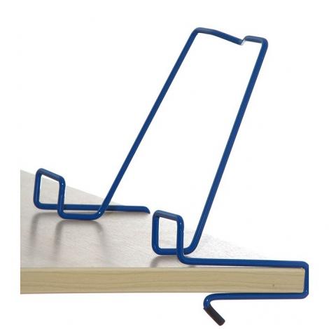 Подставка для книг металлическая ДЭМИ, синяя