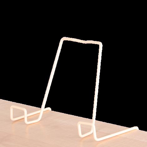Подставка для книг металлическая ДЭМИ, бежевый